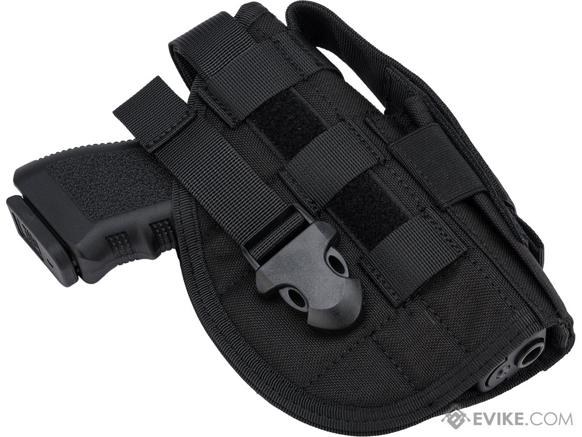 Matrix Tactical Battlefield Elite MOLLE Holster (Color: Black)