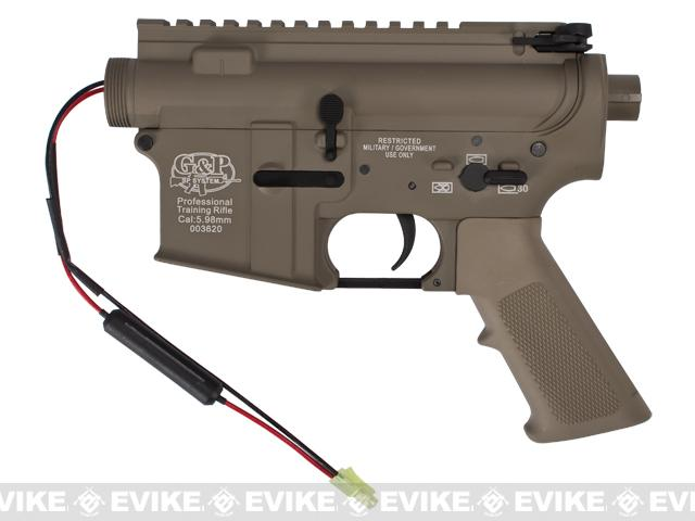 G&P Complete M4 Metal Receiver & Gearbox Airsoft AEG ProKit (G&P USA) (Version: Front Wire / Desert)