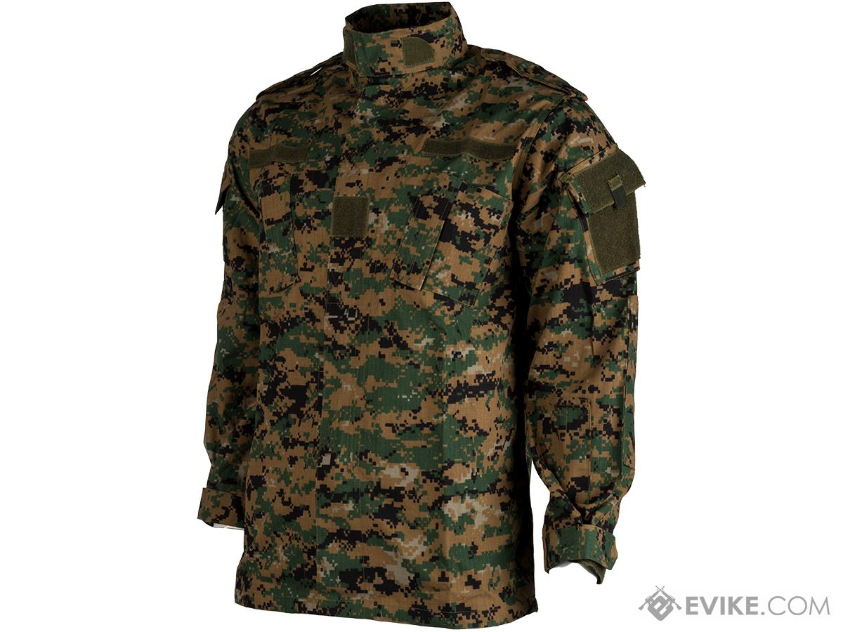 ACU Type Ripstop BDU Jacket (Color: Digital Woodland / XX-Large)