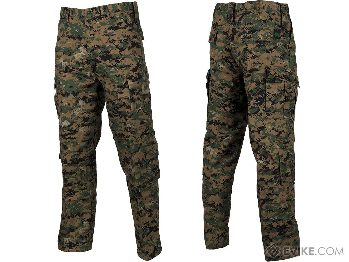 9dd3c567666373 ACU Type Ripstop BDU Pants (Color: Digital Woodland / Medium ...