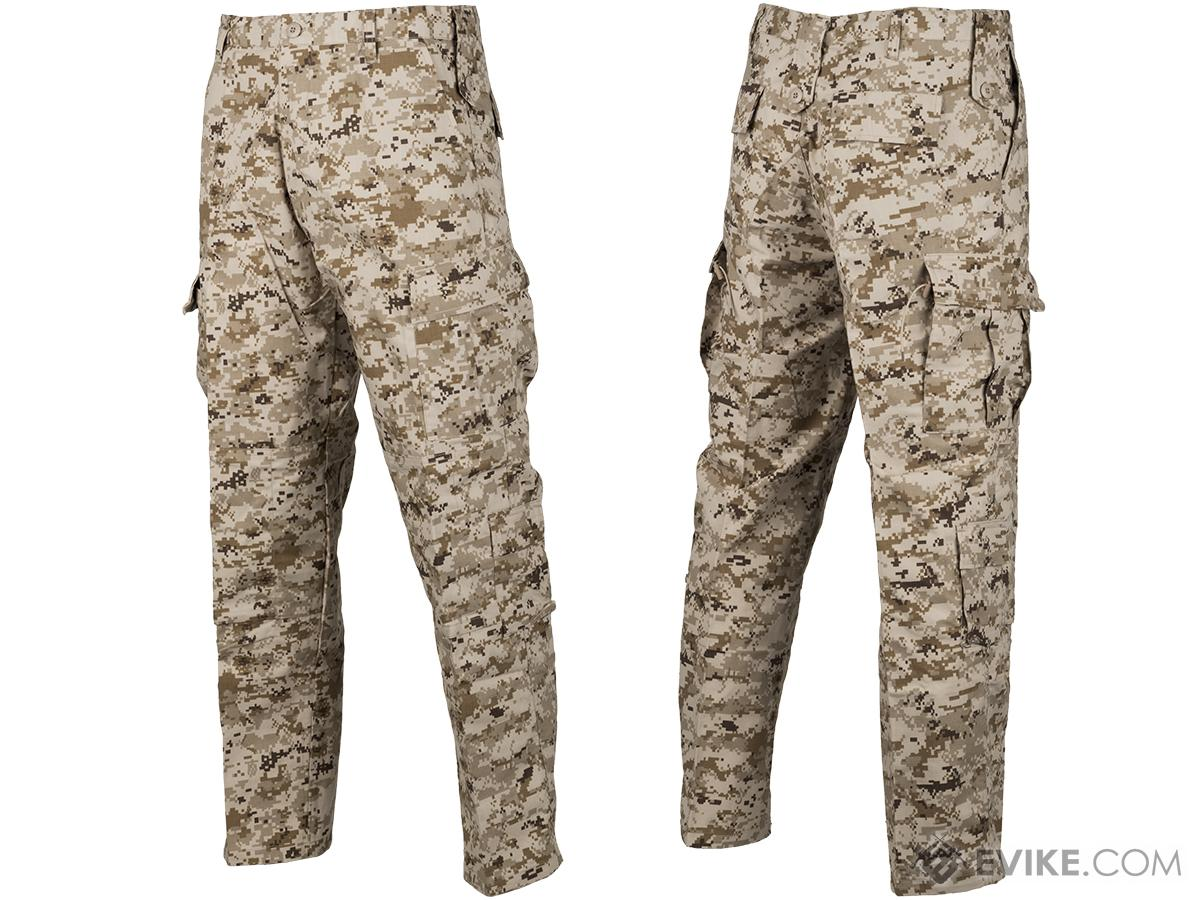 ACU Type Ripstop BDU Pants (Color: Digital Desert / Large)
