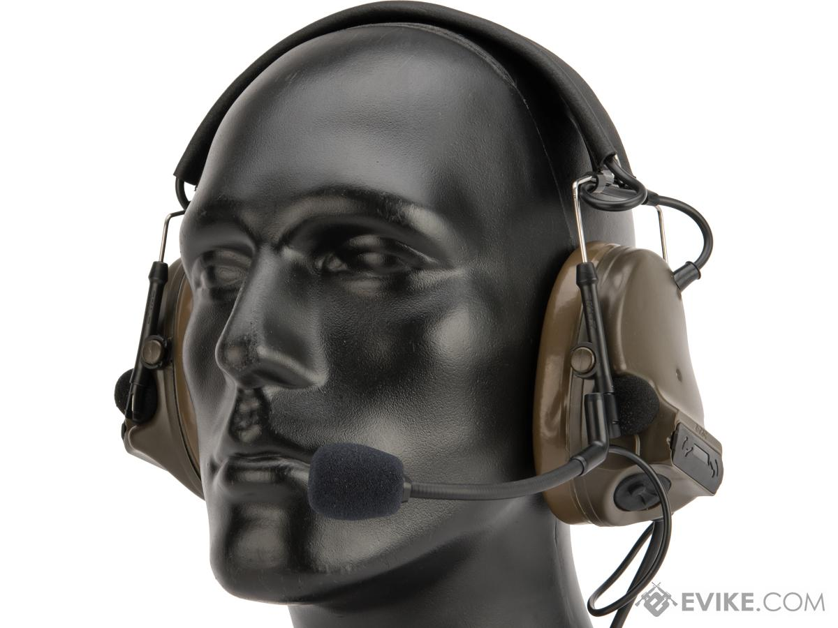 Element Z051 Military Style Noise Canceling Headset (Color: OD Green)