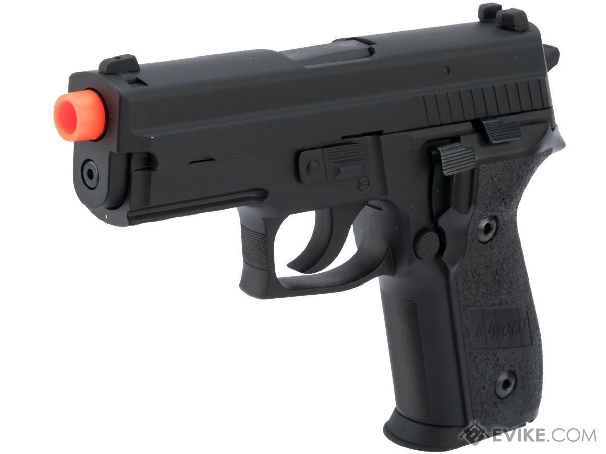 Swiss Arms Licensed KJW SA229 Airsoft Full Metal GBB Gas Blowback Pistol