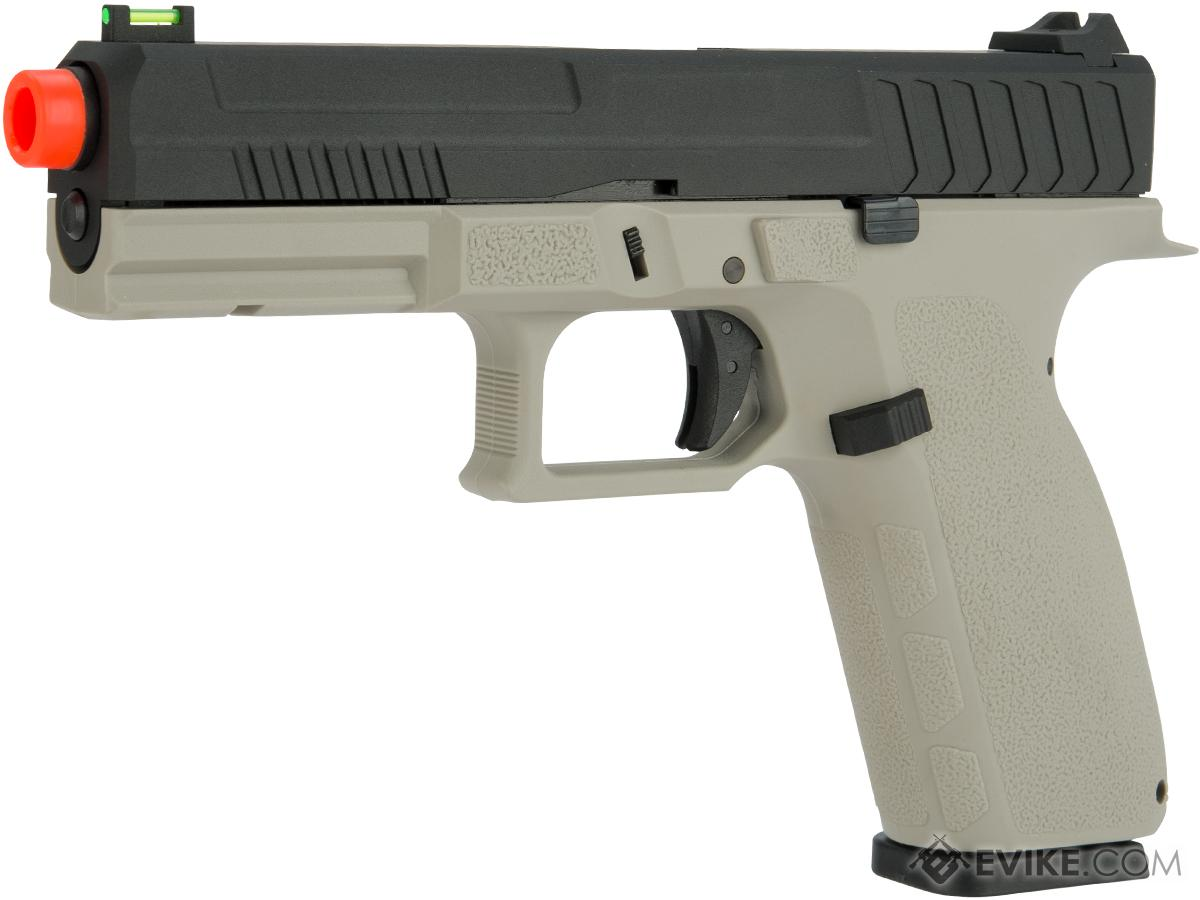 KJW KP-13 Full Size Polymer Frame Gas Blowback Airsoft Pistol (Color: Grey)