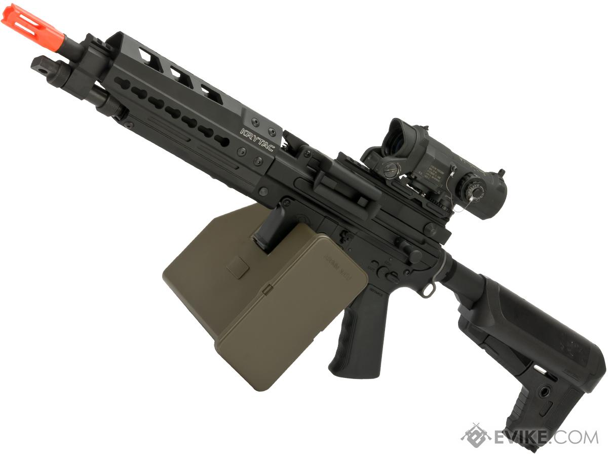 Krytac Full Metal Trident MK II LMG  AEG Light Machine Gun with Keymod Handguard