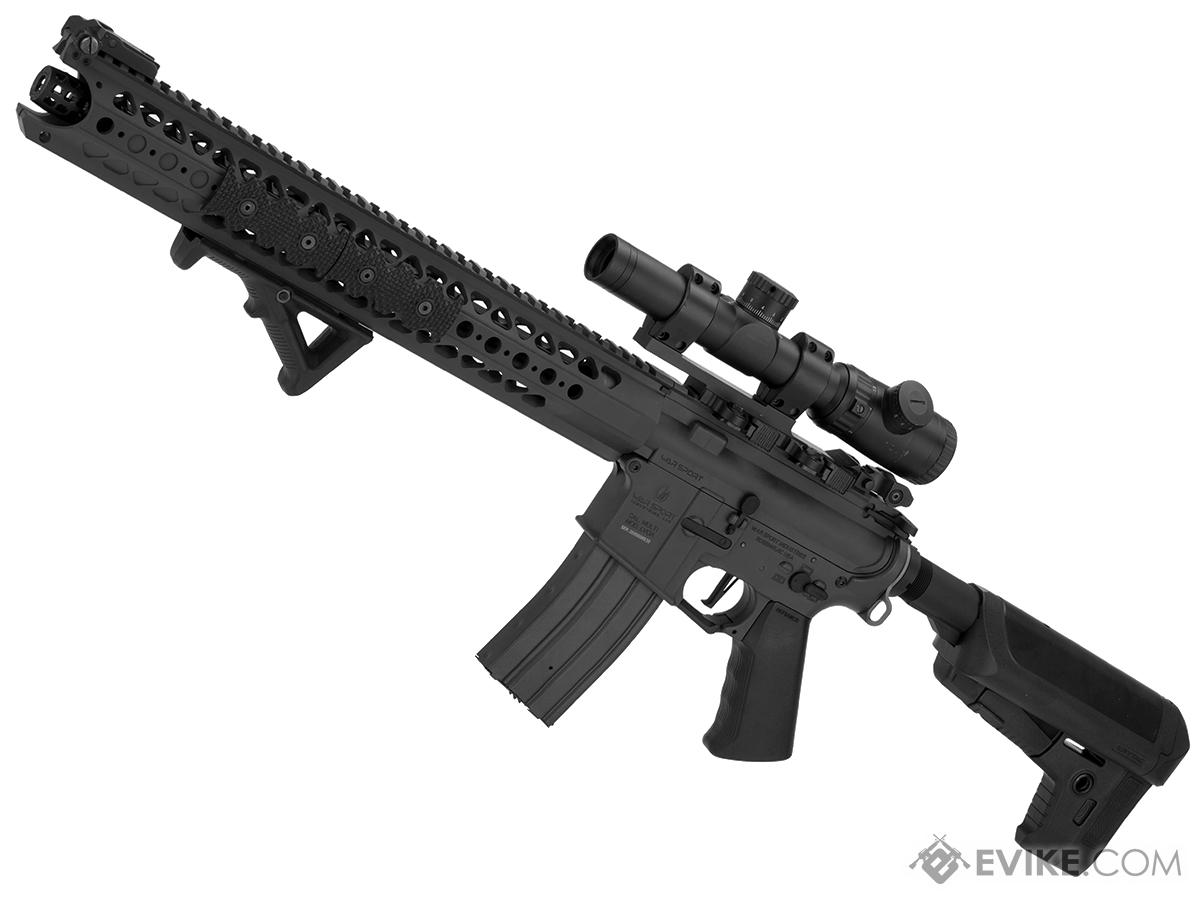 Krytac War Sport Licensed LVOA-C M4 Carbine Airsoft AEG Rifle (Model: Black)