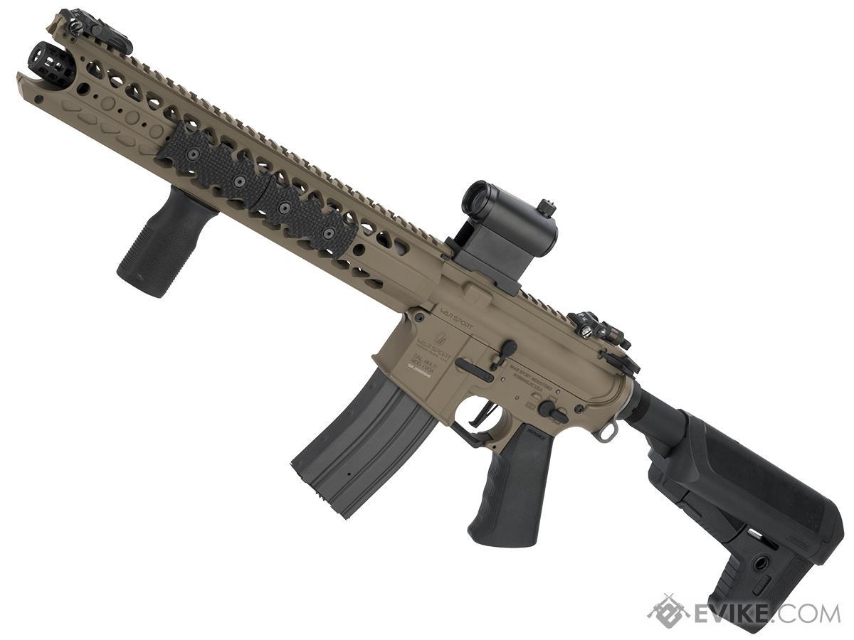 Krytac War Sport Licensed LVOA-S M4 Carbine Airsoft AEG Rifle (Color: Flat Dark Earth)