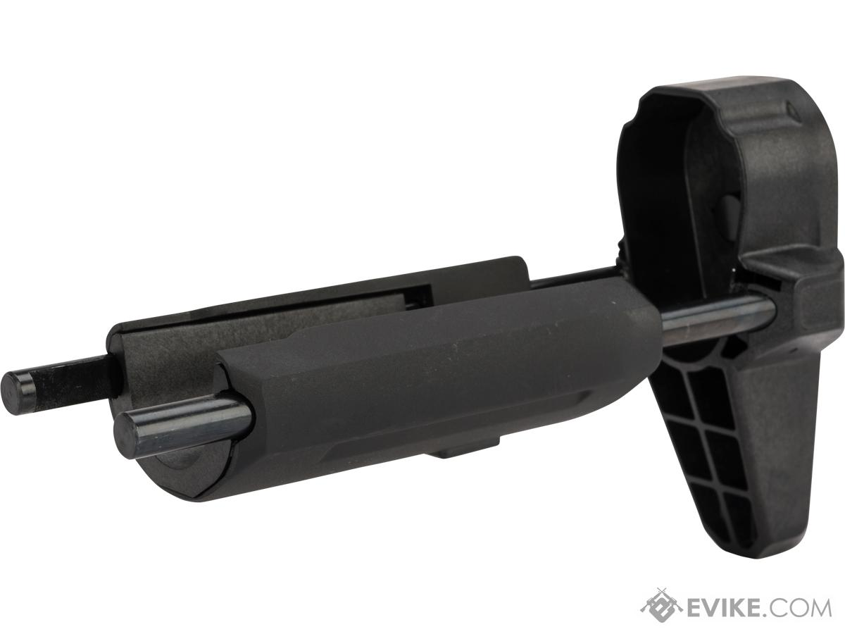 Krytac Airsoft Compact Carbine / PDW Replacement Stock for M4/M16 Series AEGs