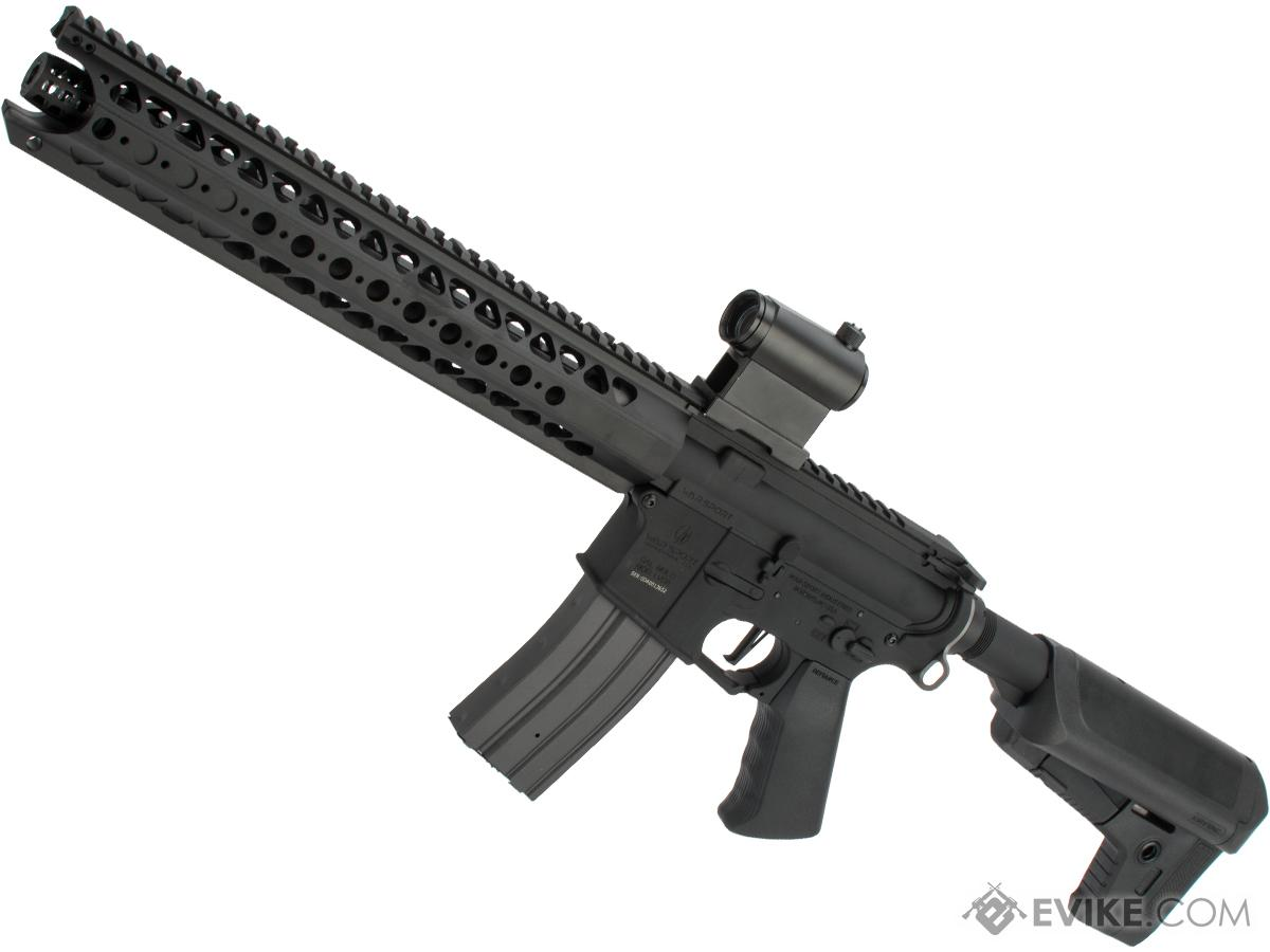 Krytac War Sport Licensed LVOA-S M4 Carbine Airsoft AEG Rifle (Model: Black / 400 FPS)