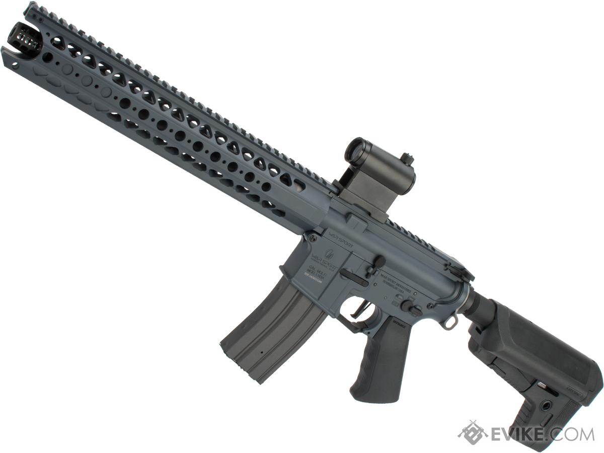 Krytac War Sport Licensed LVOA-S M4 Carbine Airsoft AEG Rifle (Model: Combat Grey / 350 FPS)