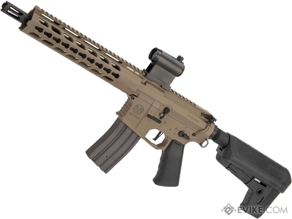 Pre-Order ETA May 2021 Krytac Full Metal Trident MKII CRB Airsoft AEG Rifle (Model: Flat Dark Earth / 400 FPS)