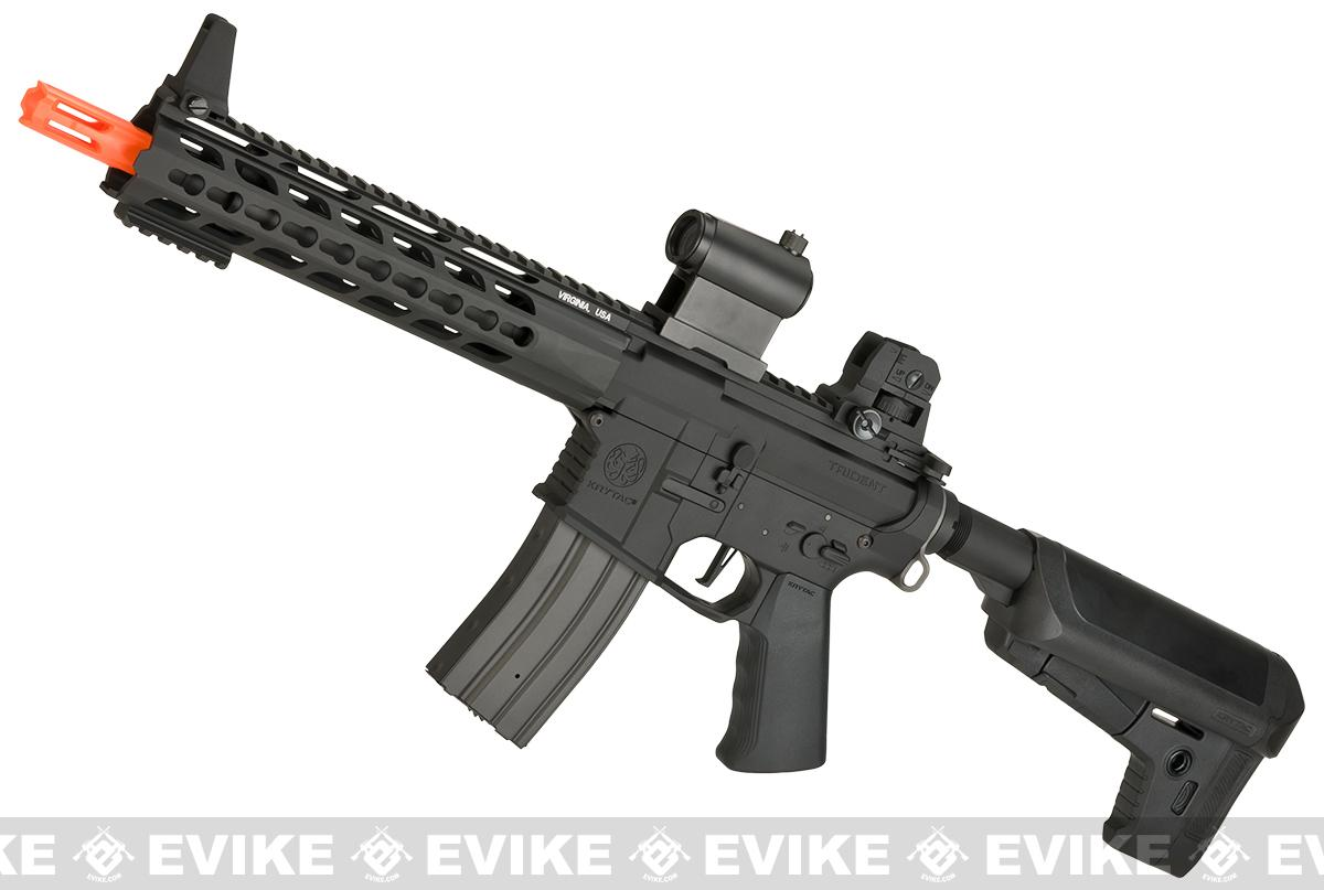 Pre-Order ETA March 2018 Krytac Full Metal Trident MK2 CRB Airsoft AEG Rifle (Model: Black)