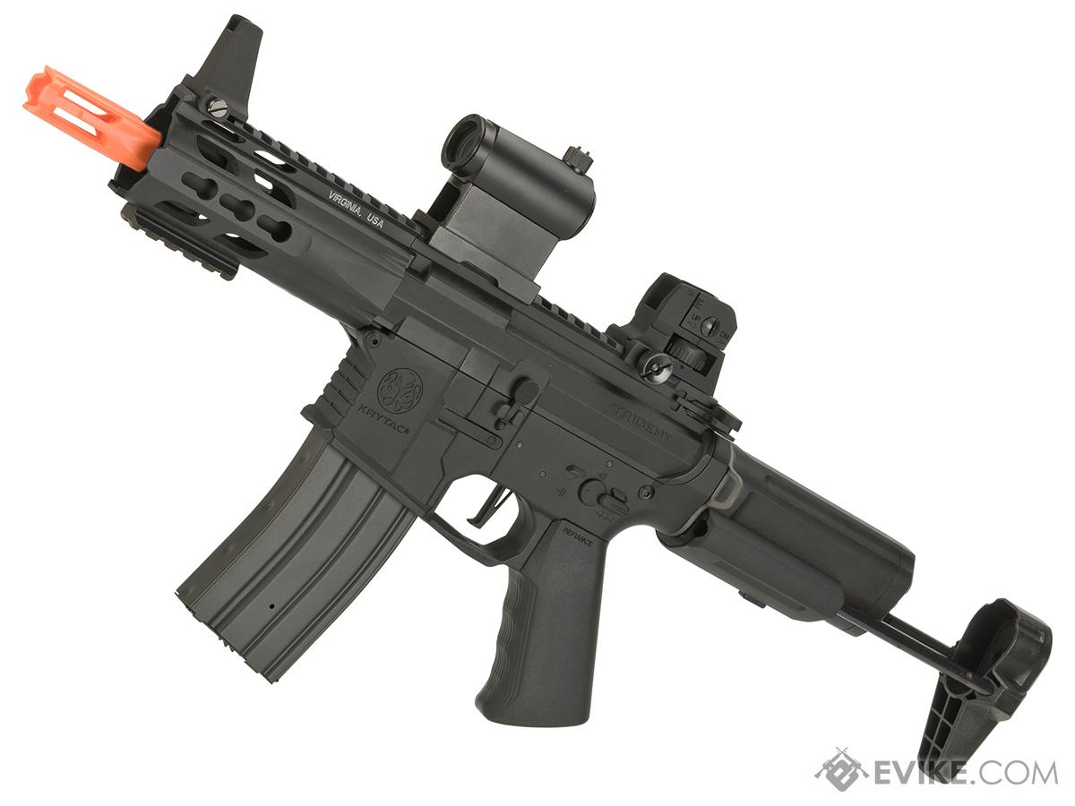 Krytac Full Metal Trident MKII PDW Airsoft AEG Rifle (Color: Black)