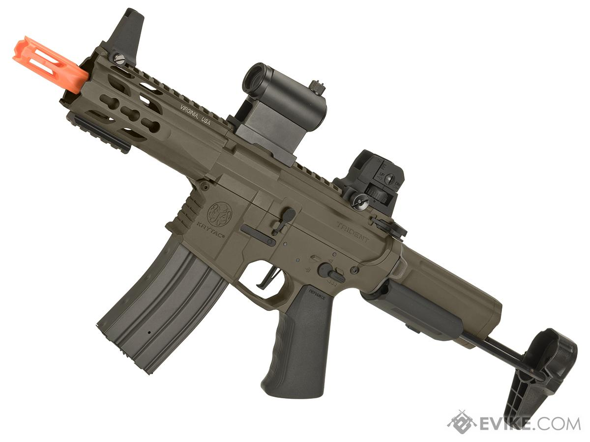 Krytac Full Metal Trident MK2 PDW Airsoft AEG Rifle (Color: Flat Dark Earth)