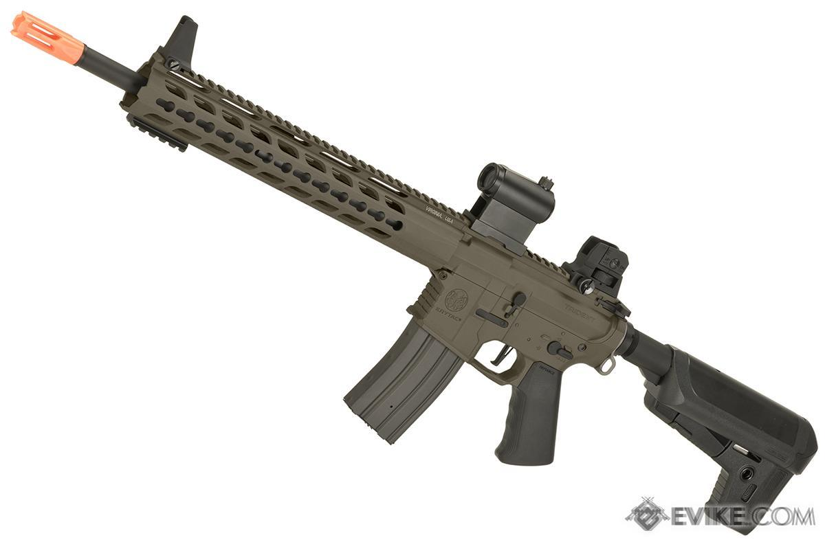 Krytac Full Metal Trident MKII SPR Airsoft AEG Rifle (Color: Flat Dark Earth)