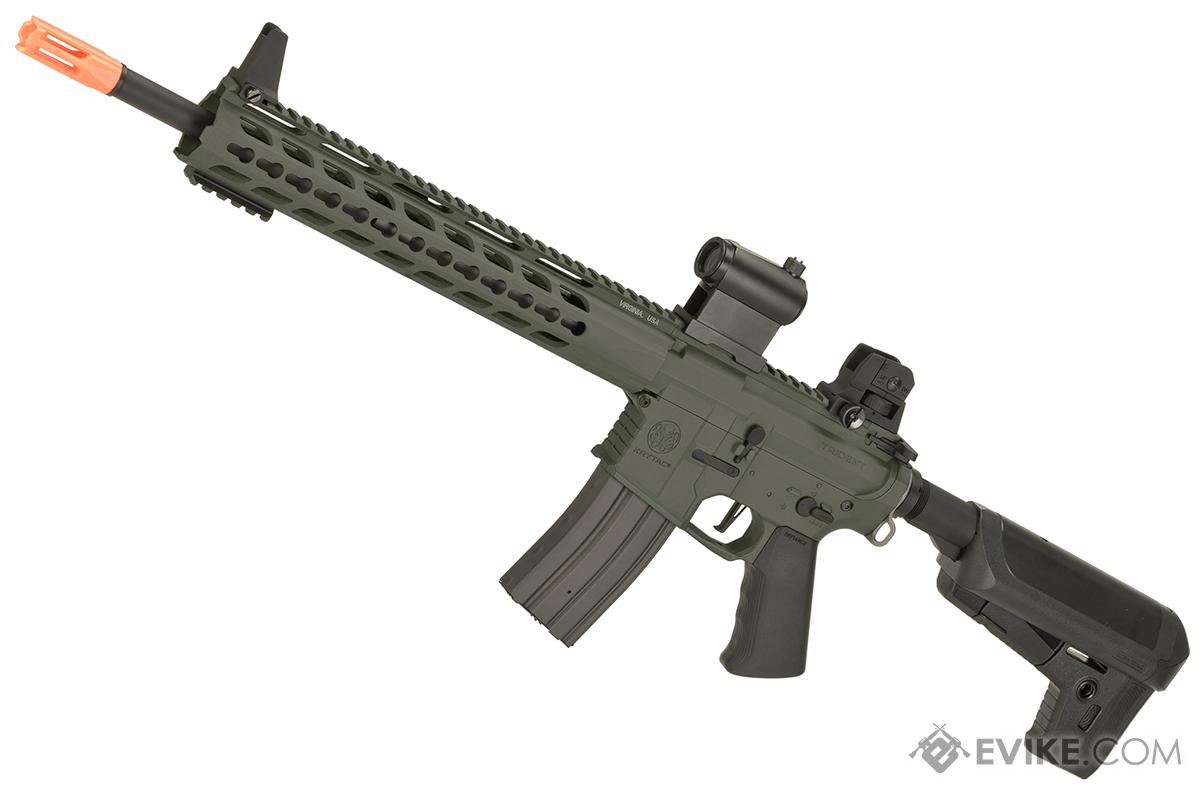 Krytac Full Metal Trident MK2 SPR Airsoft AEG Rifle (Color: Foliage Green)