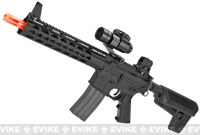 Pre-Order ETA April 2018 Krytac Full Metal Trident CRB Airsoft AEG Rifle - Black
