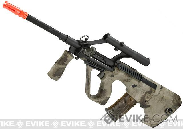 APS AUG A1 Military Airsoft AEG Rifle w/ Integrated Scope (Version: ATACs AU / Carbine Length)