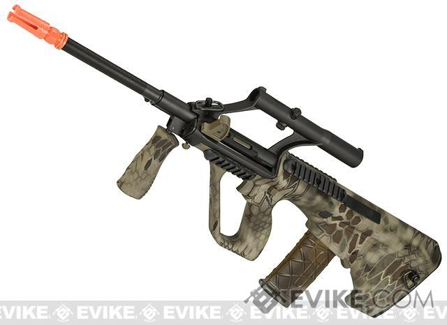 APS AUG A1 Airsoft AEG Rifle w/ Integrated Scope (Version: Kryptec Highlander / Carbine Length)
