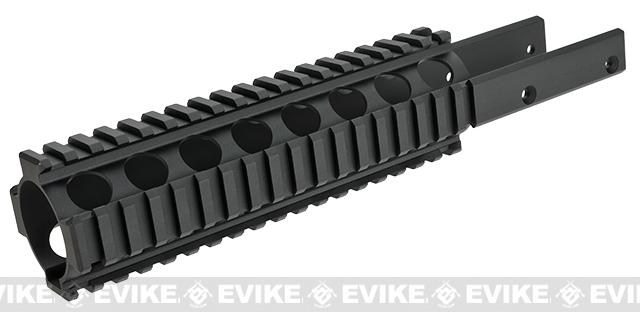 Modelwork Rail System for Kriss Vector Airsoft SMG (Length: 270mm)