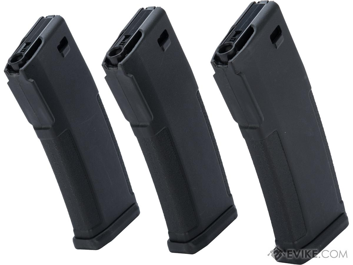 PTS EPM Variable Capacity 30 / 120 Round Magazines for KWA ERG / AEG2.5 / AEG3 Rifles (Qty: 3 Pack)