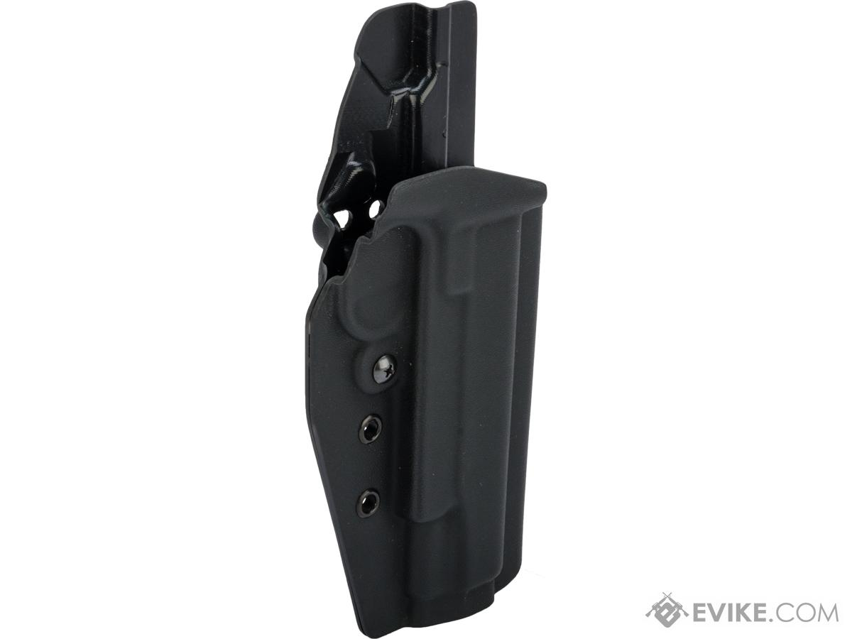 MC Kydex Airsoft Elite Series Pistol Holster for 1911 (Model: Black / No Attachment / Right Hand)