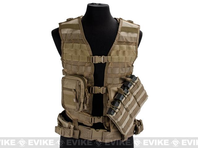 z VISM Zombie Stryke Rezurrection Vest Kit - Tan