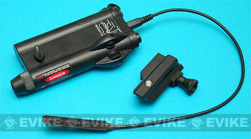 G&P PEQ IV Laser Device with Pressure Switch - Black