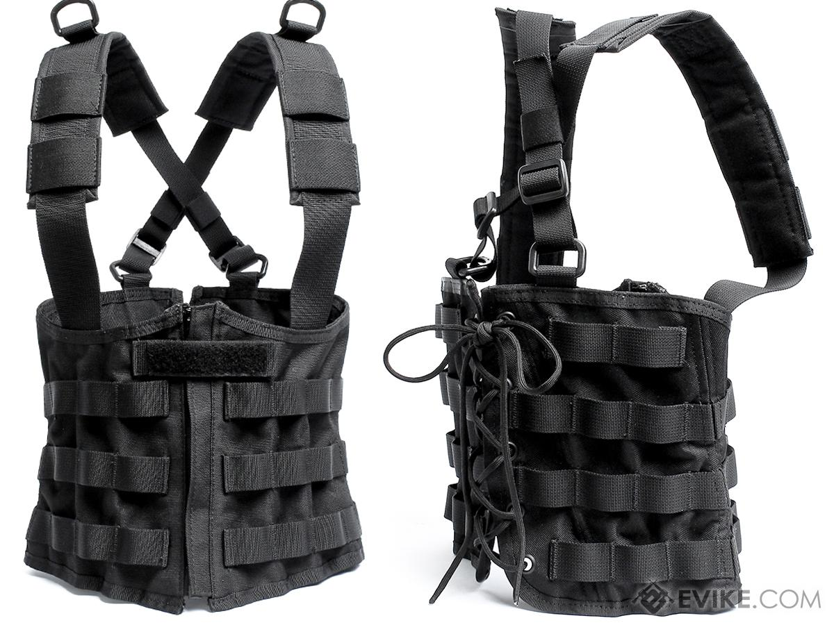 Laylax Ghost Gear Ladies Tactical Sharp Corset Rig (Color: Black)
