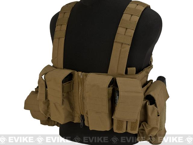 LBX Tactical Lock & Load Chest Rig - Coyote Brown