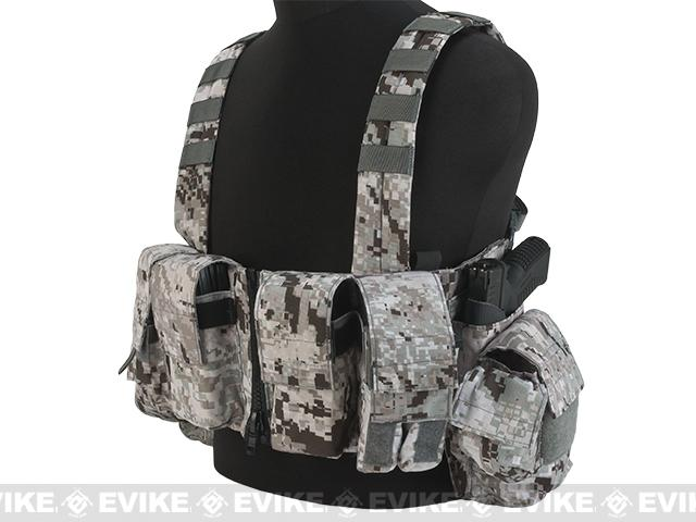 LBX Tactical Lock & Load Chest Rig - Snow Raptor