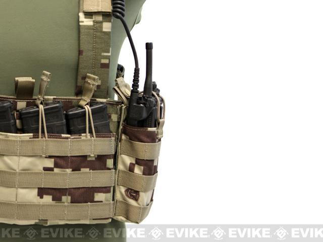 LBX Tactical Radio Pouch - Project Honor Camo