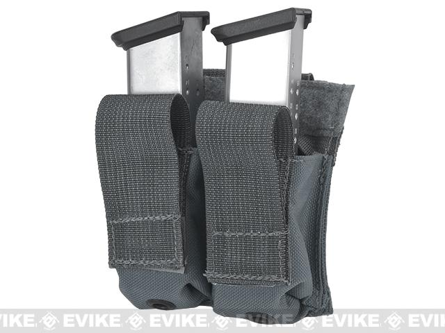 z LBX Tactical Dual Kydex Pistol Magazine Pouch - Wolf Grey