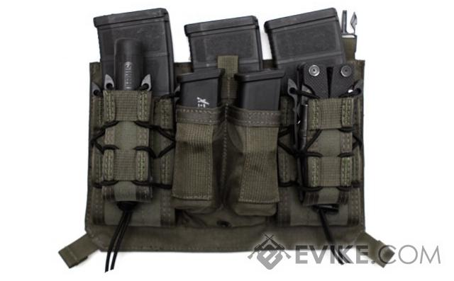 z LBX Tactical Assaulters Panel for Armatus Plate Carrier - Mas Grey
