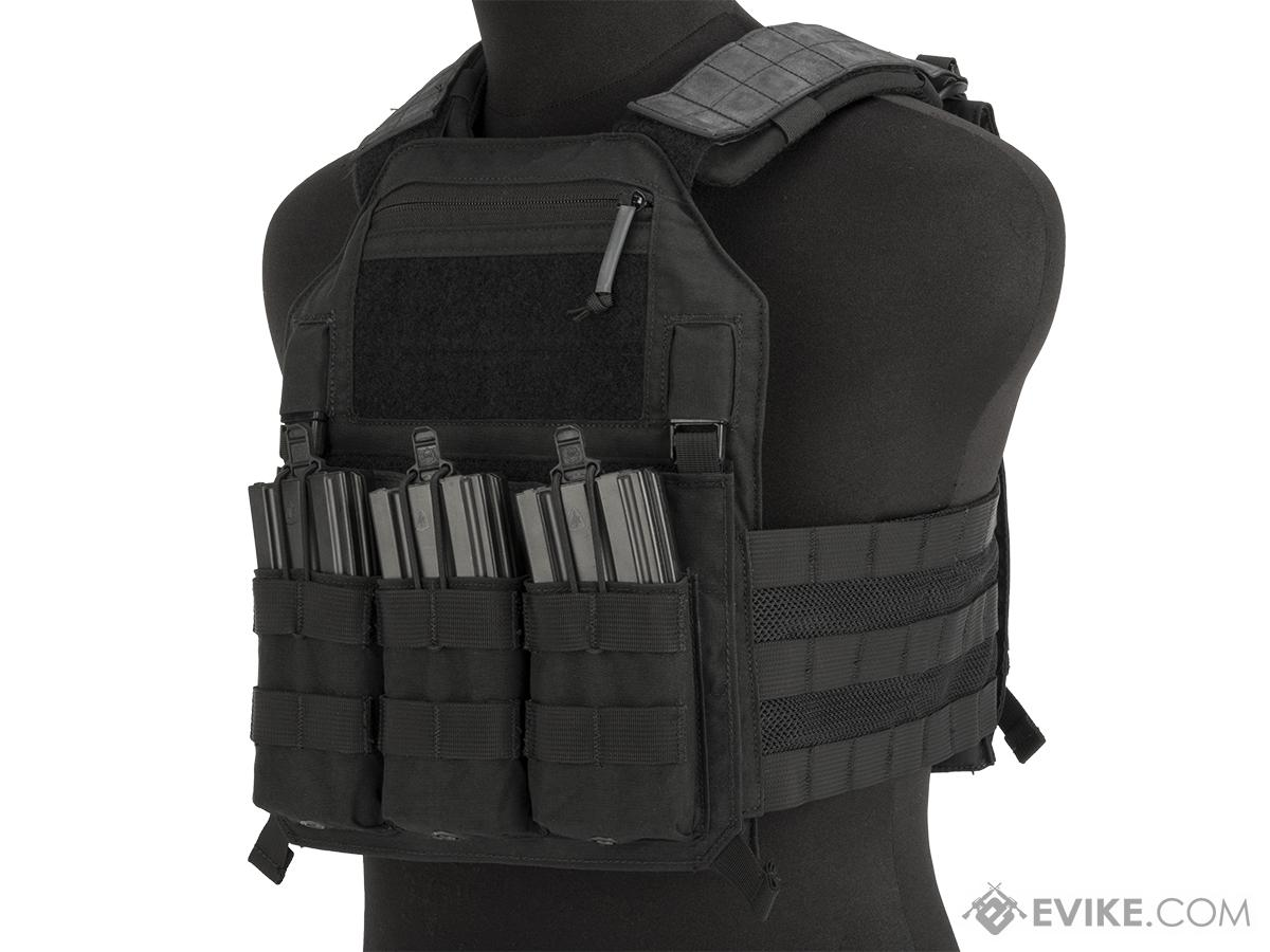 LBX Armatus II 4020 Plate Carrier (Color: Black / Large)