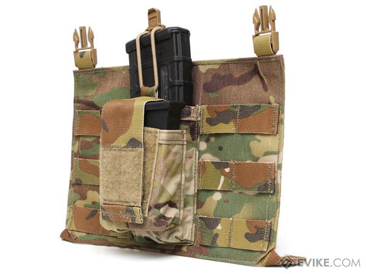LBX Tactical Variable Assaulter Fast Clip Panel w/ Center Dual Pistol/M4 Pouch (Color: Multicam)