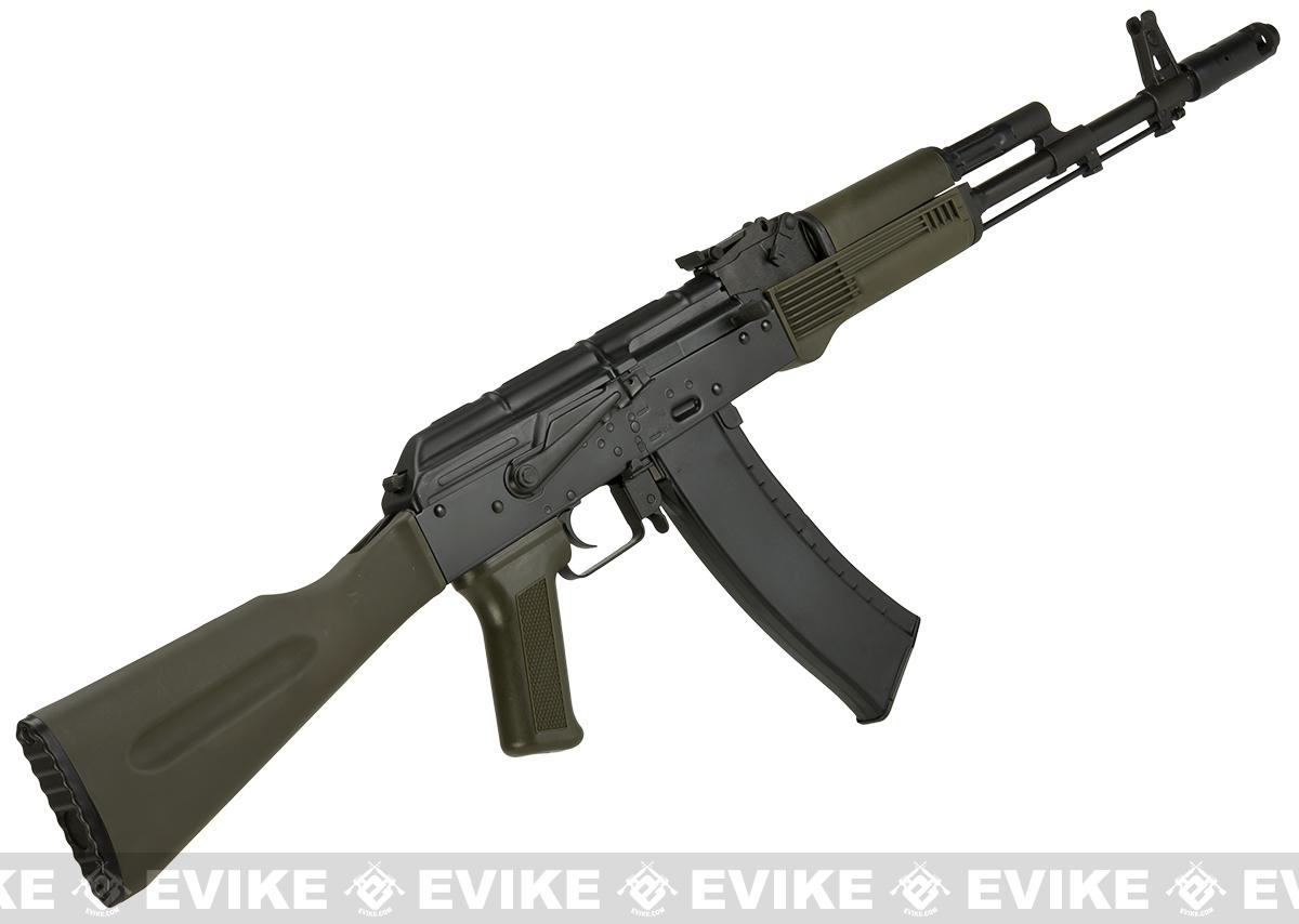 Ak74m: LCT Airsoft AK74M NV Full Metal Airsoft AEG With OD Green