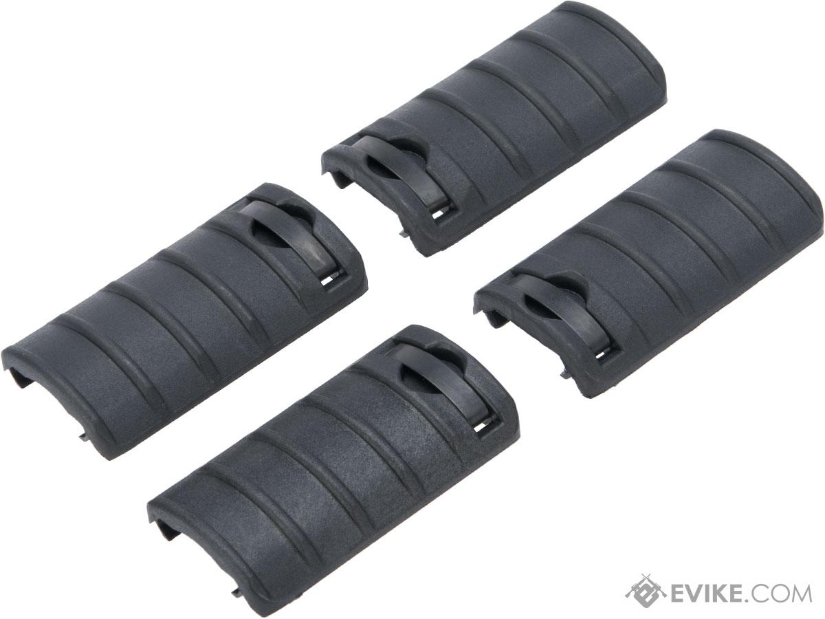 LCT L4 Polymer Rail Covers (Color: Black / Pack of 4)