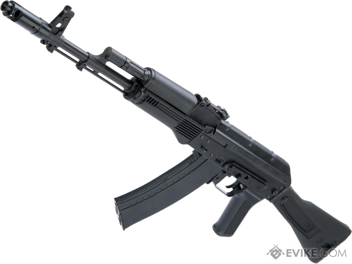 LCT Stamped Steel LCK74MN AK EBB AEG Rifle w/ Polymer Folding Stock