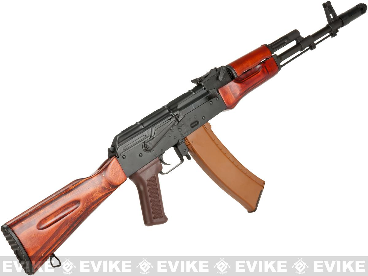 Ak74m: LCT Airsoft AK74M NV Full Metal Airsoft AEG With Real Wood