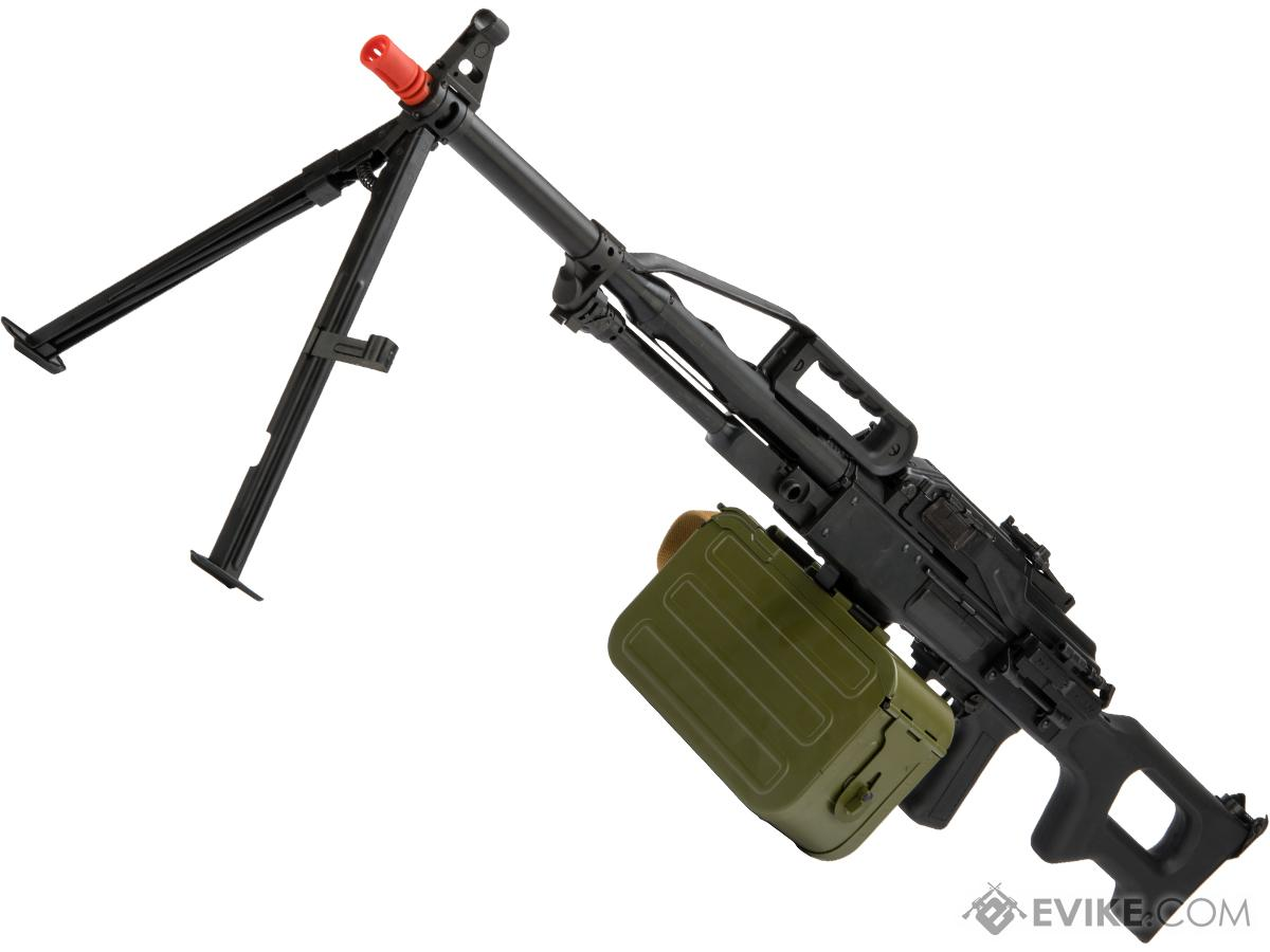 LCT Airsoft PKP Pecheneg Full Metal Airsoft AEG Light Machine Gun
