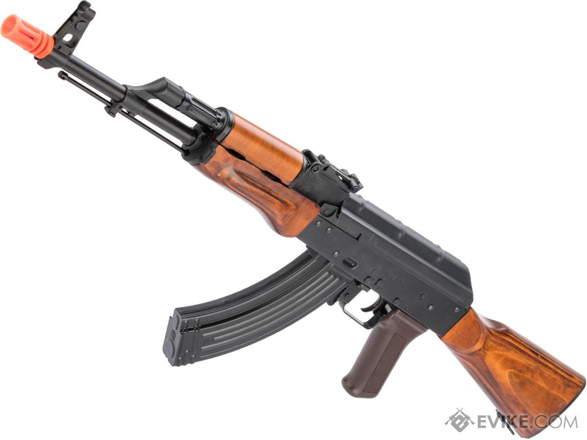 LCT Stamped Steel LCKM AK EBB AEG Rifle (Style: Wood Furniture)