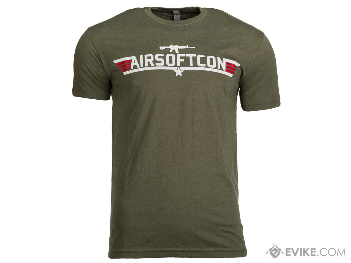 Evike.com AirsoftCon Shirt - OD Green (Size: Large)