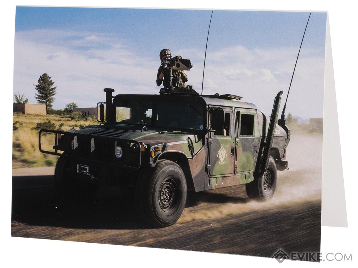 Evike.com Birthday Humvee Birthday Greeting Card with Envelope