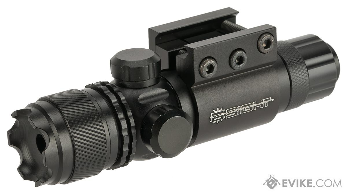 G-Sight Gladiator Weapon Mounted Laser Sight (Color: Blue Laser)