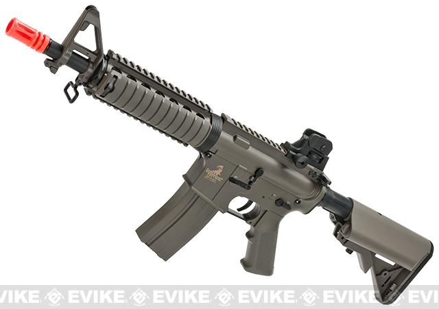 Lancer Tactical M4 CQBR Airsoft AEG Rifle (Color: Dark Earth)