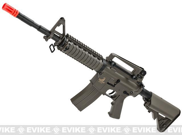 Lancer Tactical M4RIS Airsoft AEG Rifle (Color: Dark Earth)
