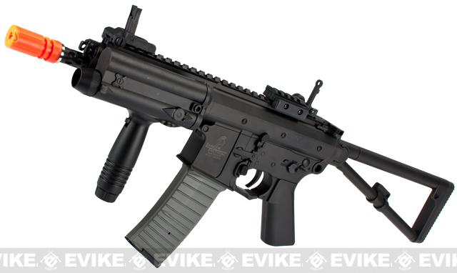 KAC Knight's Armament Licensed PDW Airsoft AEG Rifle (Two Magazine)