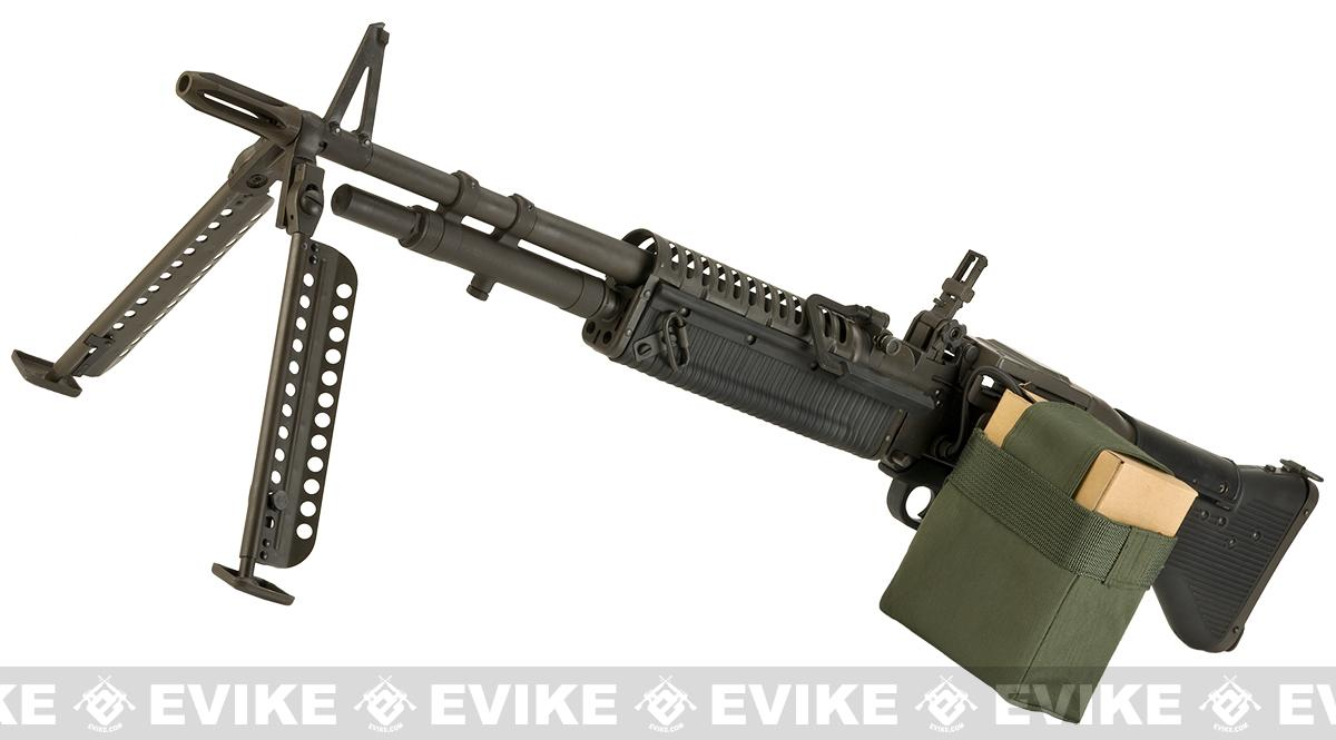 LCT Airsoft Full Metal Full Size Limited Edition M60 Airsoft Light Machine  Gun AEG