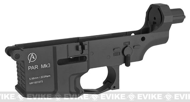 ICS Pro-Arms Armory MK3 Full Metal Aluminum Lower Receiver for Airsoft AEG Rifles (Color: Black)